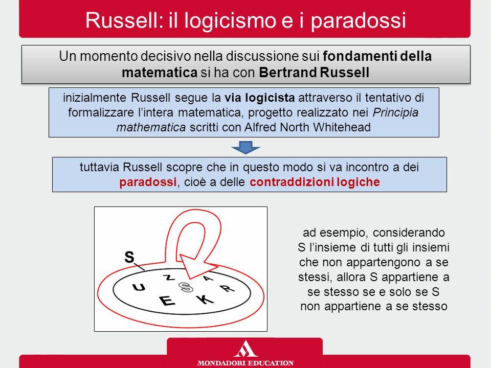 Russell: il logicismo e i paradossi