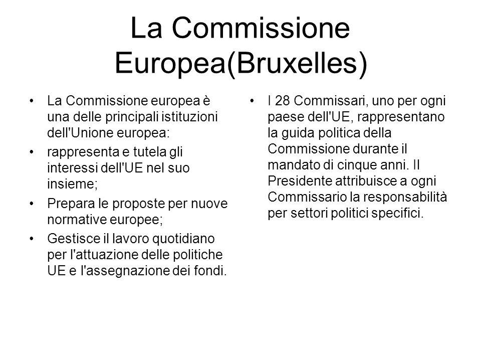 La Commissione Europea(Bruxelles)
