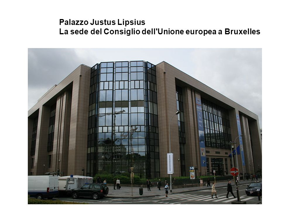 Palazzo Justus Lipsius La sede del Consiglio dell Unione europea a Bruxelles