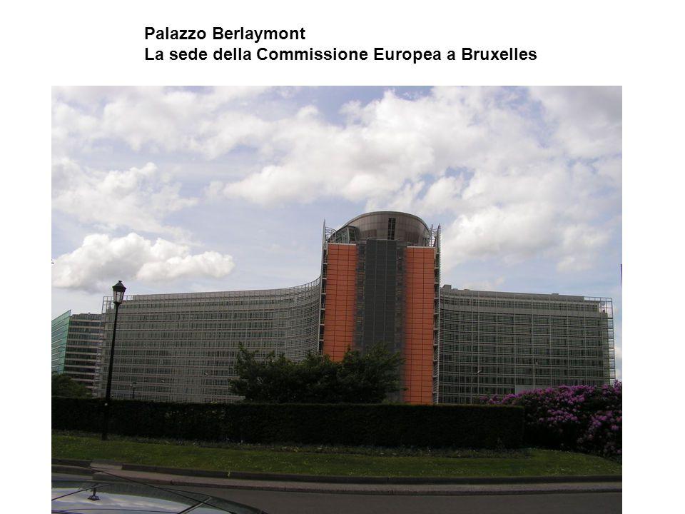 Palazzo Berlaymont La sede della Commissione Europea a Bruxelles