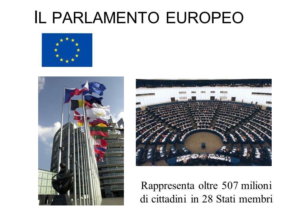 Rappresenta oltre 507 milioni di cittadini in 28 Stati membri