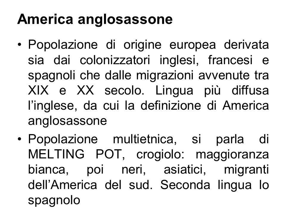 America anglosassone
