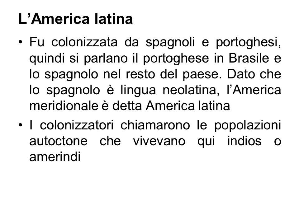 L'America latina