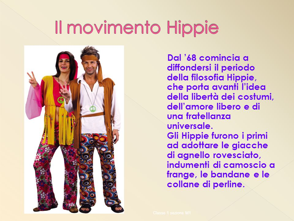 Il movimento Hippie