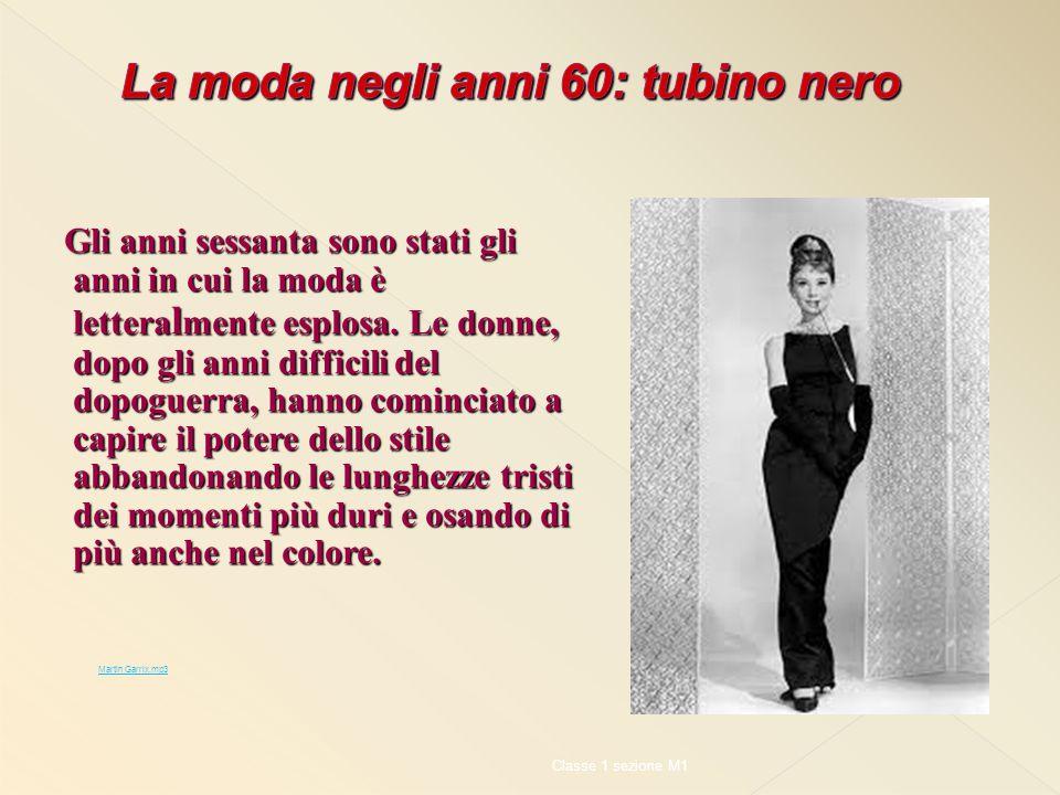 La moda negli anni 60: tubino nero