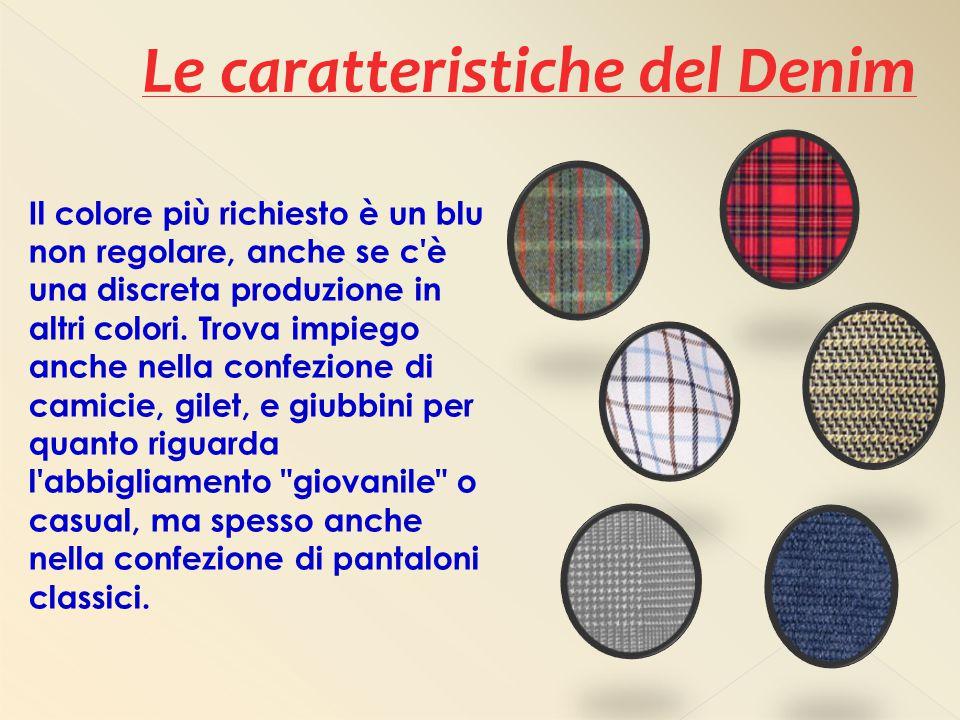 Le caratteristiche del Denim
