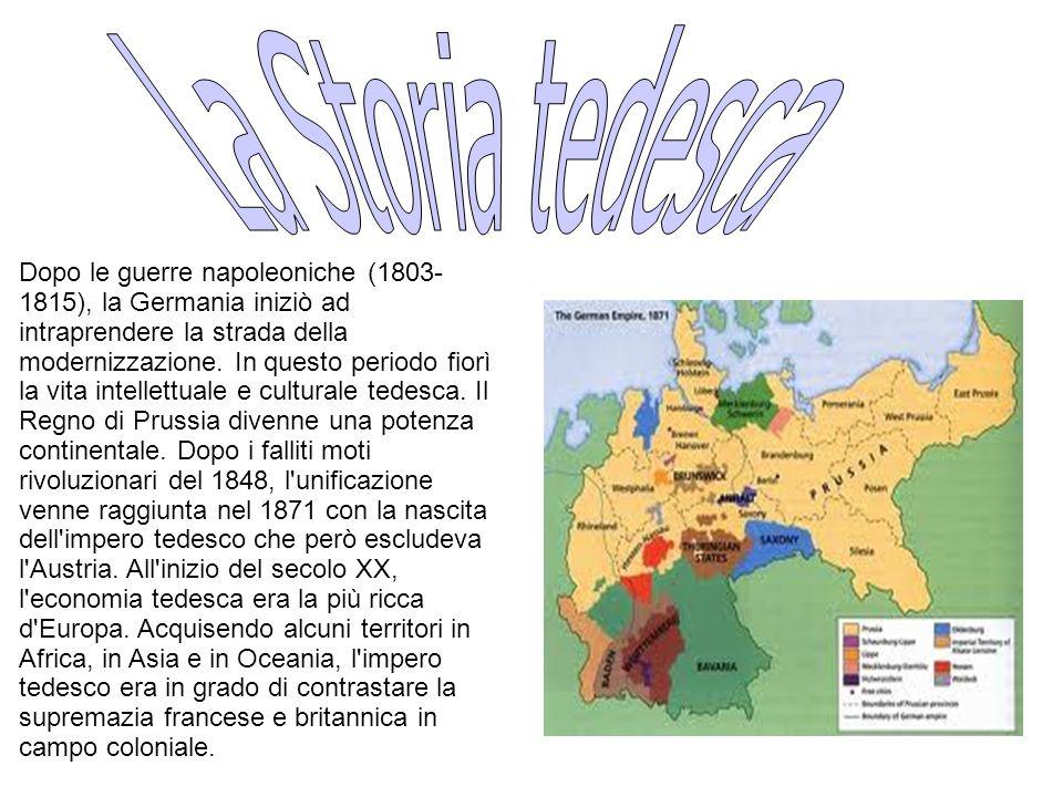 La Storia tedesca