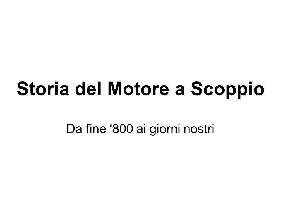 Storia del Motore a Scoppio