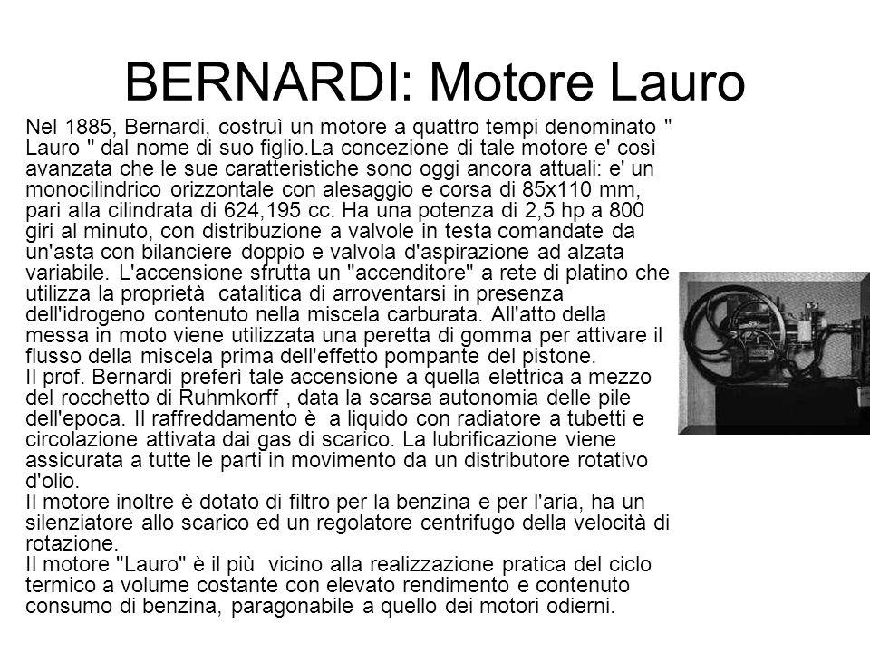 BERNARDI: Motore Lauro