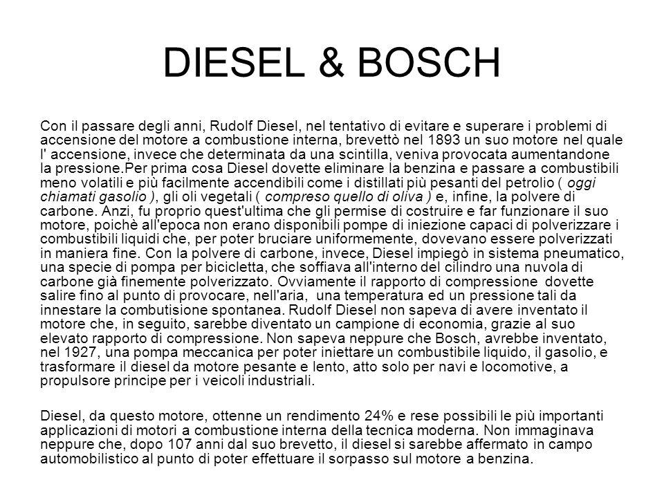 DIESEL & BOSCH