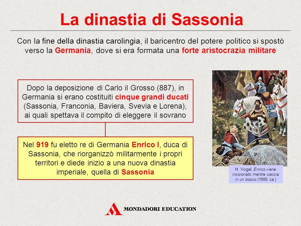 La dinastia di Sassonia