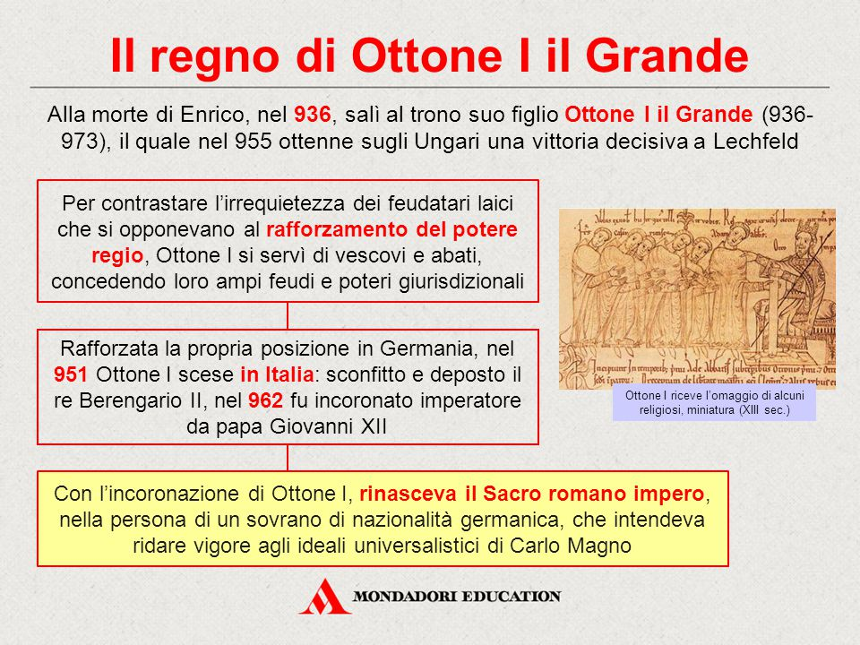 Il regno di Ottone I il Grande