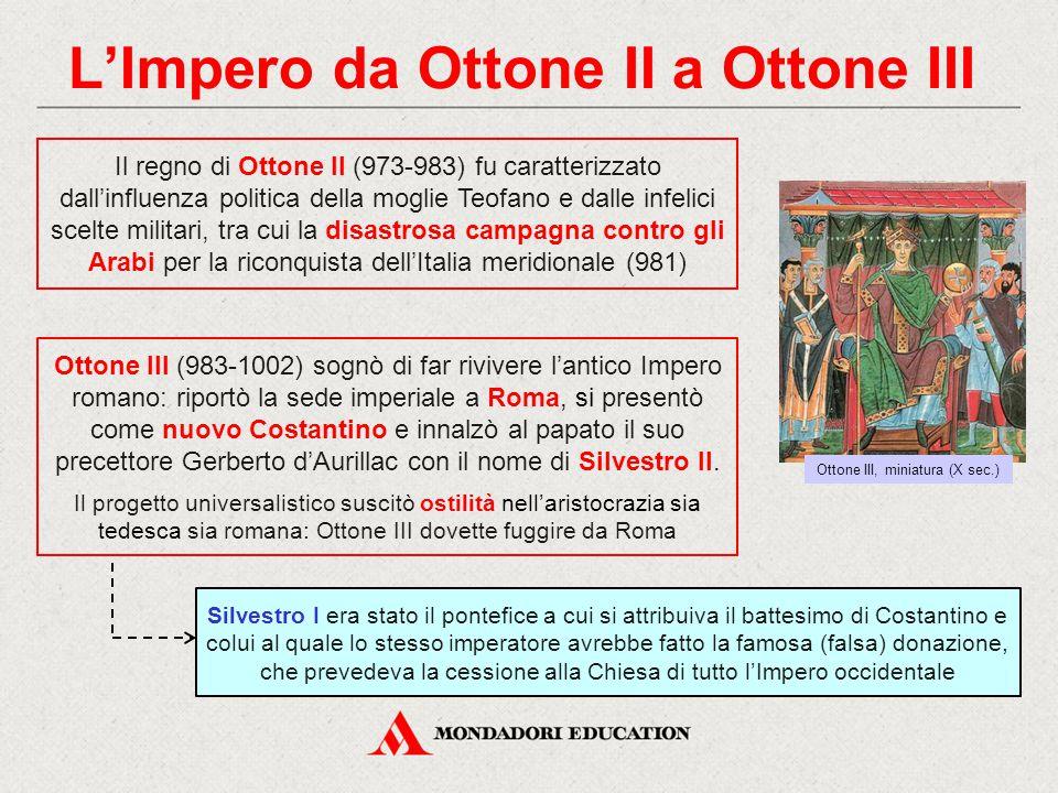 L'Impero da Ottone II a Ottone III