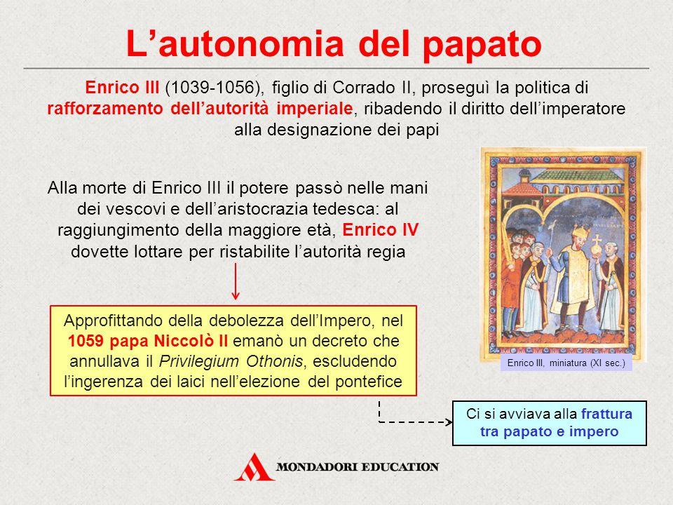 L'autonomia del papato