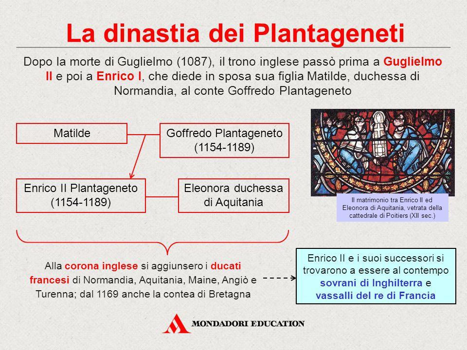 La dinastia dei Plantageneti