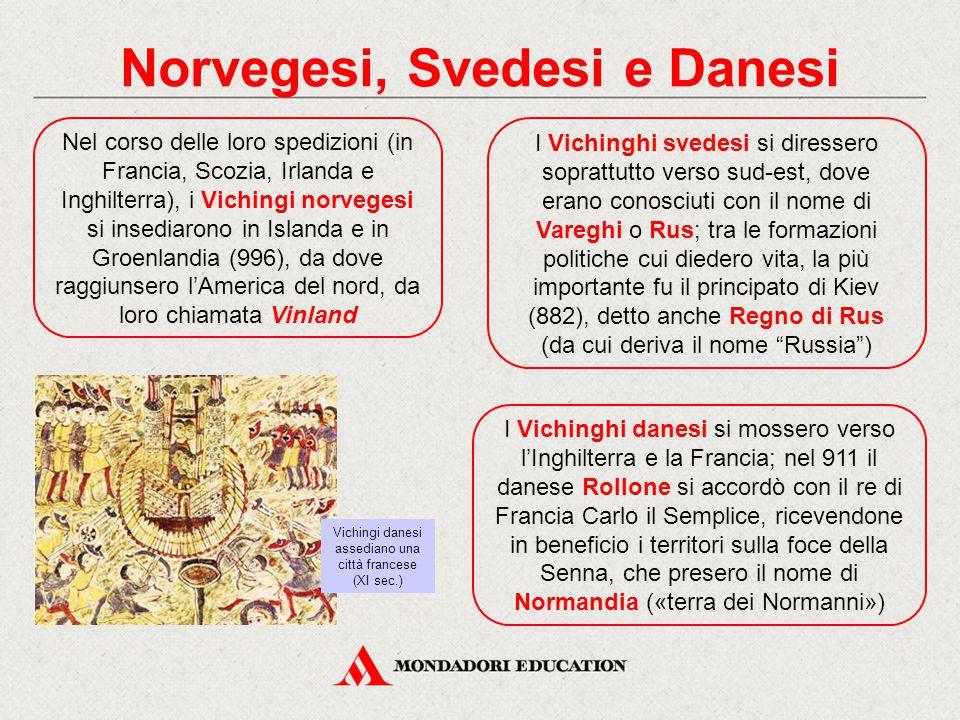 Norvegesi, Svedesi e Danesi