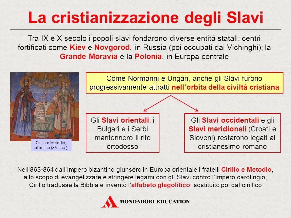 La cristianizzazione degli Slavi