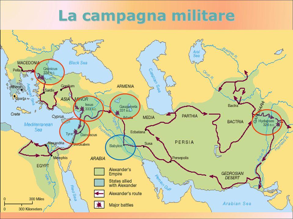 La campagna militare