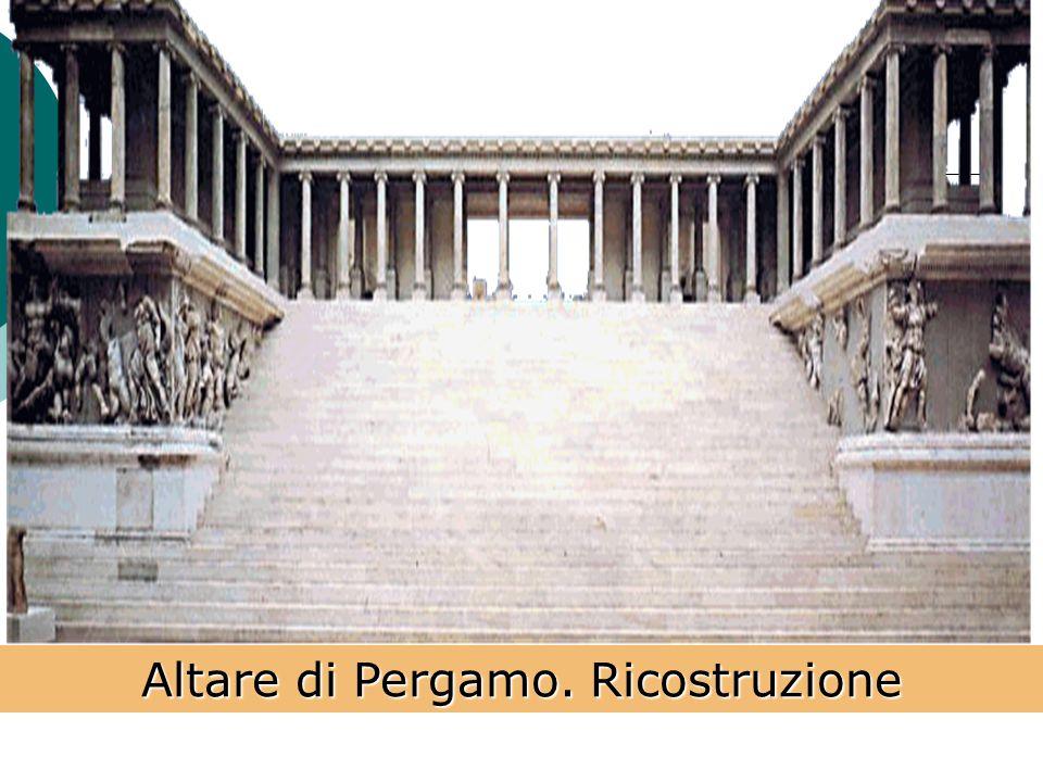 Altare di Pergamo. Ricostruzione