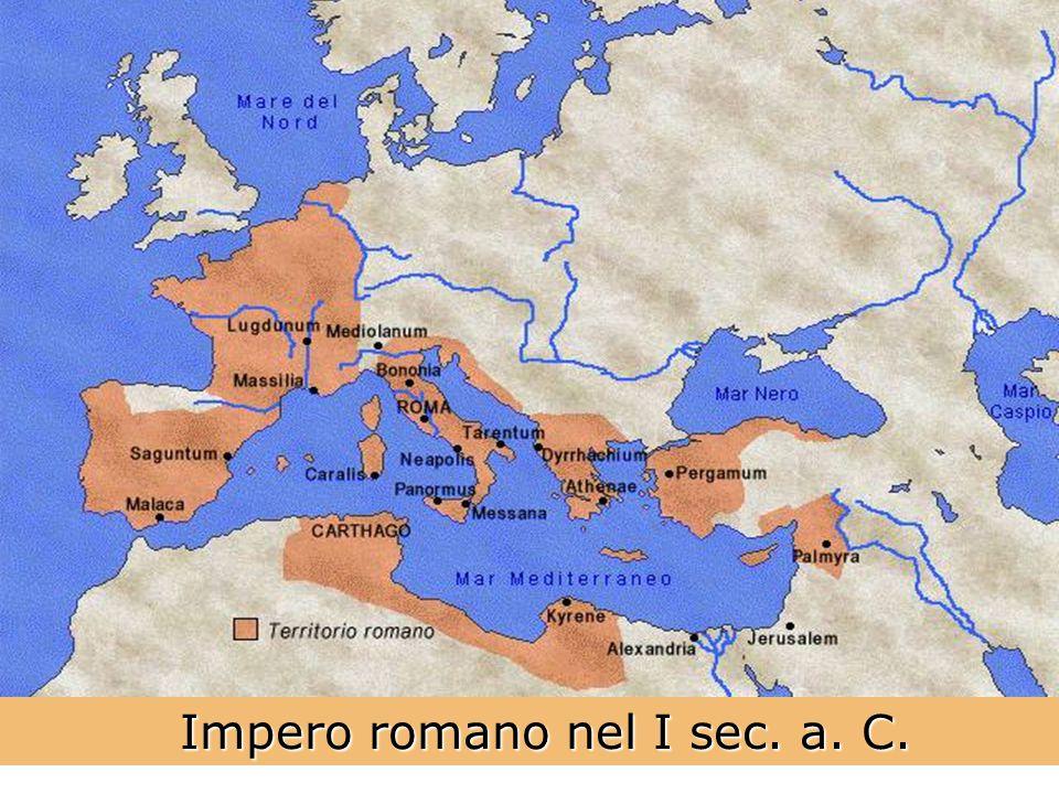 Impero romano nel I sec. a. C.