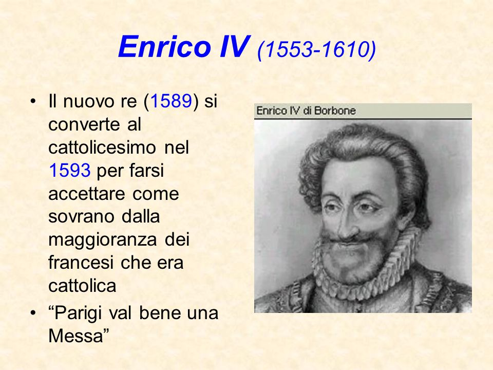 Enrico IV (1553-1610)