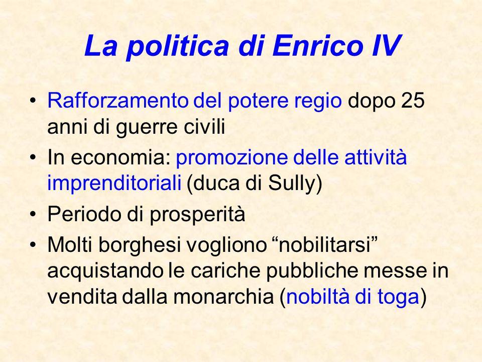 La politica di Enrico IV