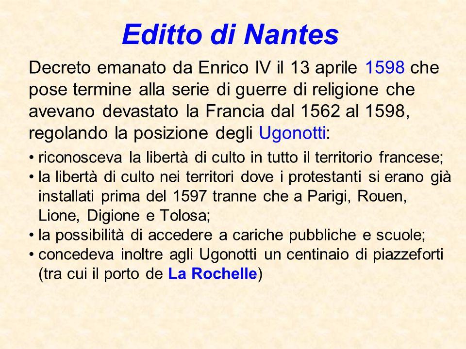 Editto di Nantes