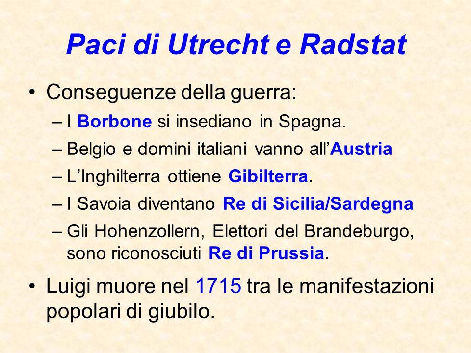 Paci di Utrecht e Radstat