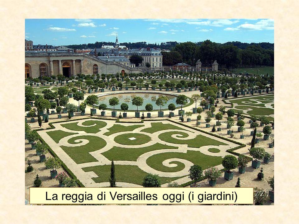 La reggia di Versailles oggi (i giardini)