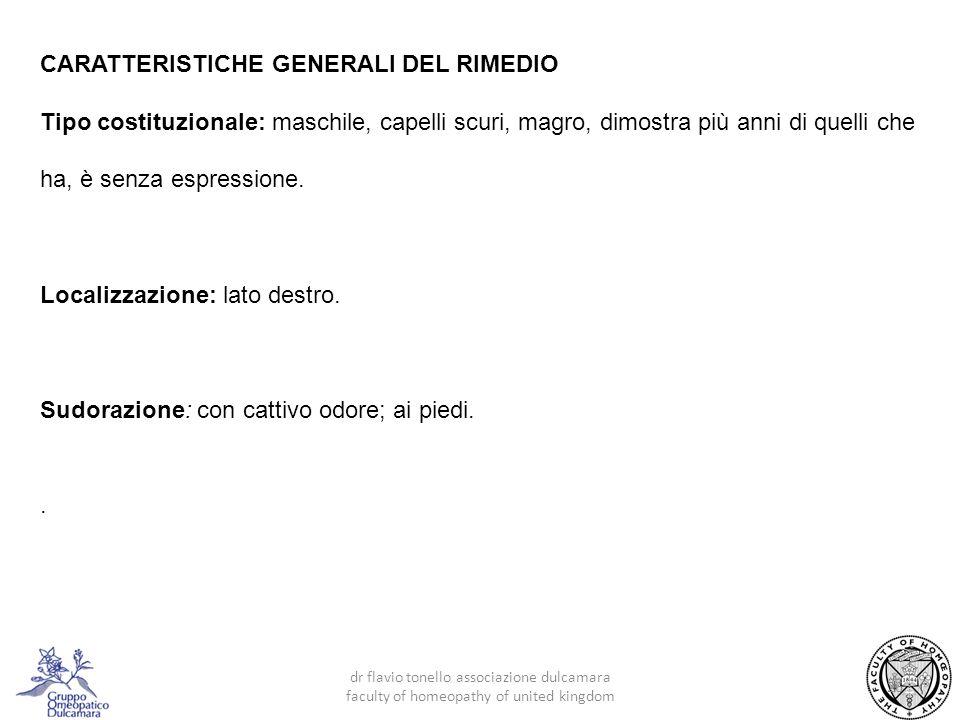 CARATTERISTICHE GENERALI DEL RIMEDIO