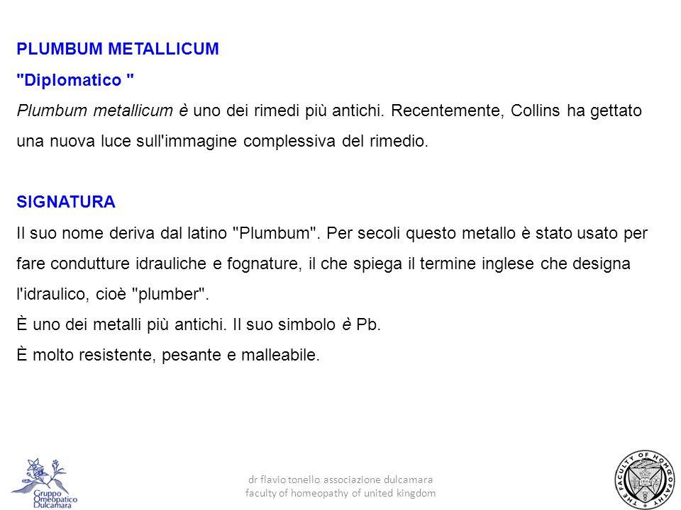 È uno dei metalli più antichi. Il suo simbolo è Pb.