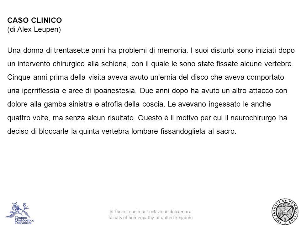 CASO CLINICO (di Alex Leupen)
