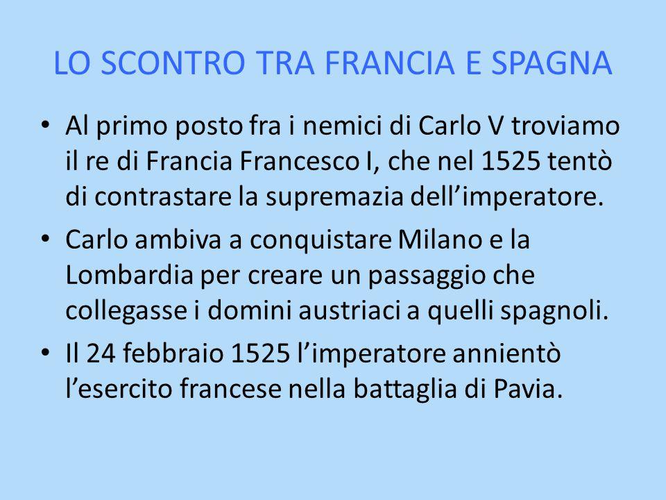LO SCONTRO TRA FRANCIA E SPAGNA