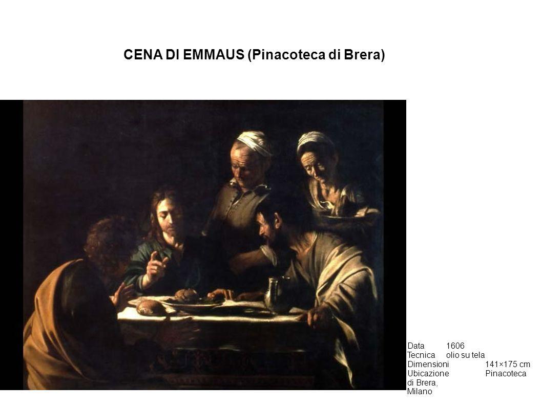 CENA DI EMMAUS (Pinacoteca di Brera)