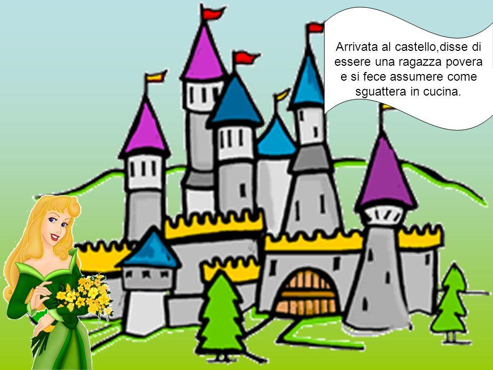 Arrivata al castello,disse di essere una ragazza povera