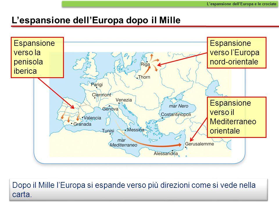 L'espansione dell'Europa dopo il Mille