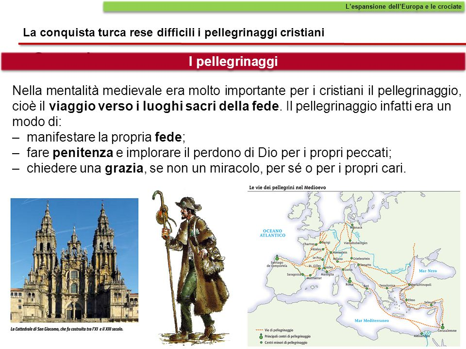 L'espansione dell'Europa e le crociate