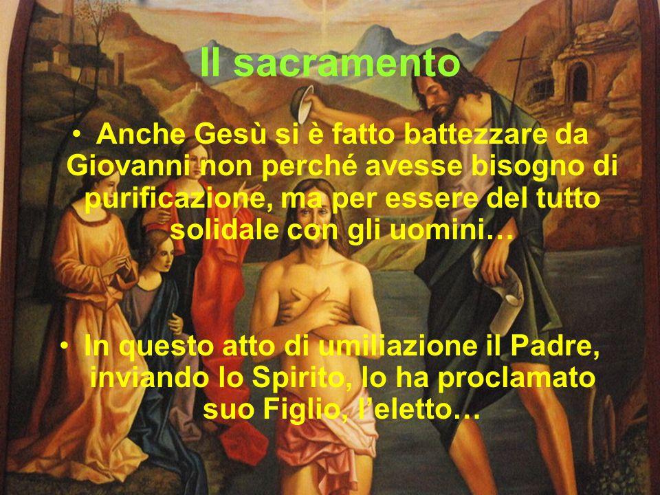 Il sacramento