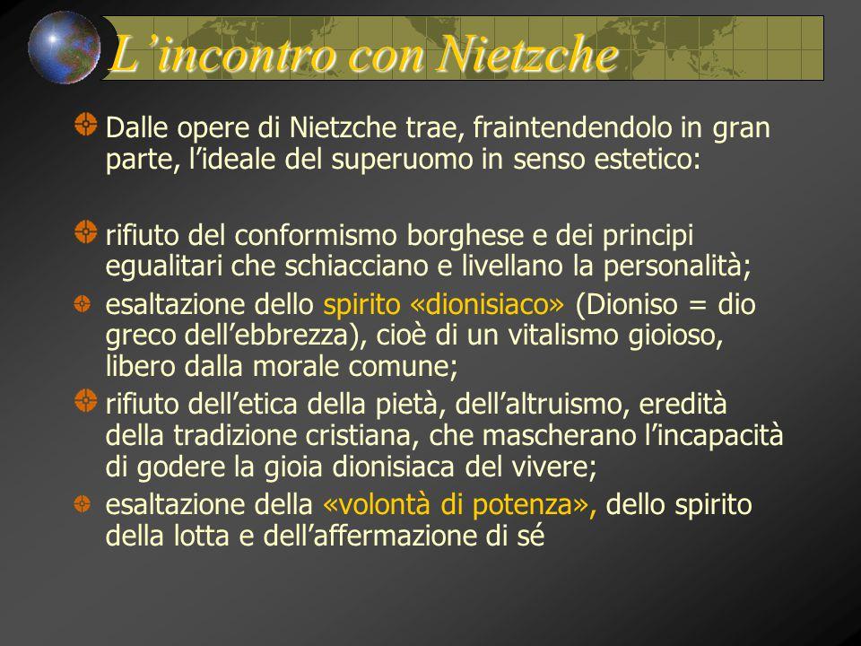 L'incontro con Nietzche