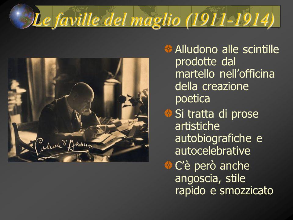 Le faville del maglio (1911-1914)