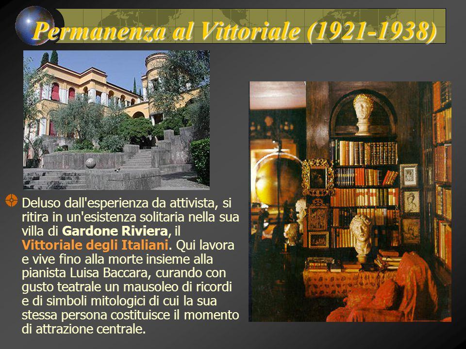 Permanenza al Vittoriale (1921-1938)
