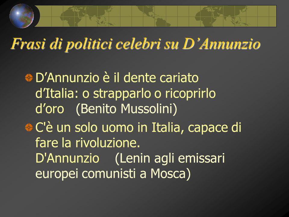 Favori Gabriele D'Annunzio. - ppt scaricare GM52