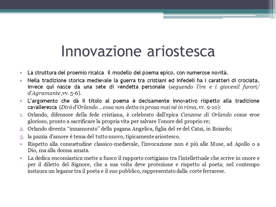 Innovazione ariostesca