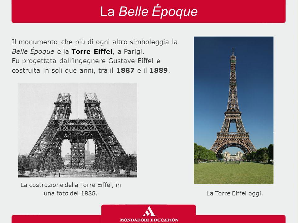 La costruzione della Torre Eiffel, in una foto del 1888.