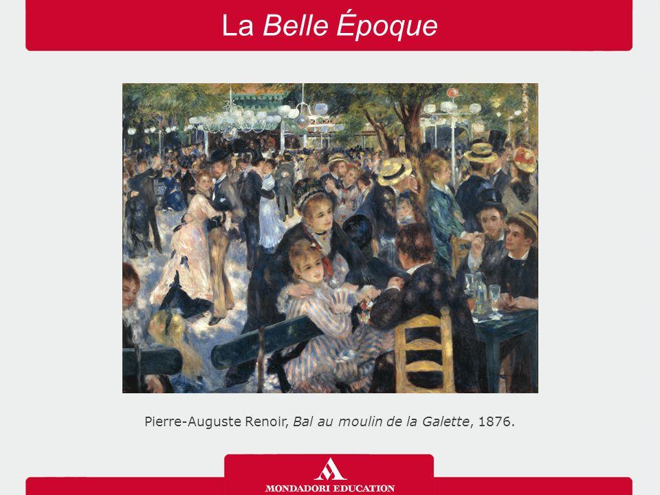 Pierre-Auguste Renoir, Bal au moulin de la Galette, 1876.