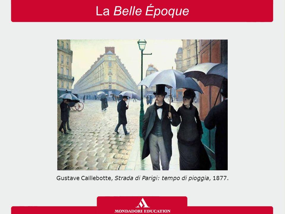 Gustave Caillebotte, Strada di Parigi: tempo di pioggia, 1877.