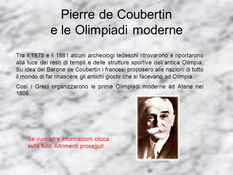 Differenze: Olimpiadi antiche e Olimpiadi moderne