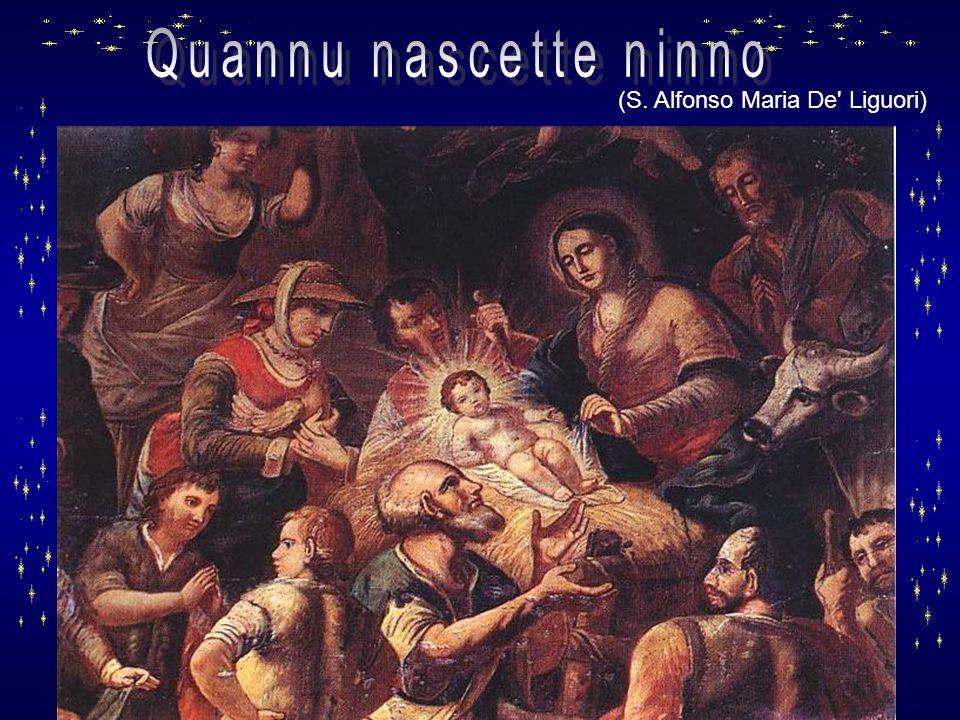 Quannu nascette ninno (S. Alfonso Maria De Liguori)