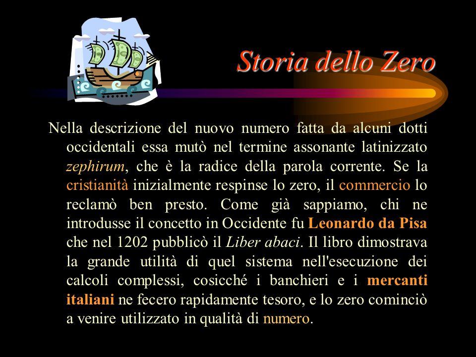 Storia dello Zero