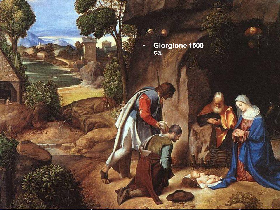 Giorgione 1500 ca.